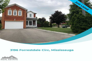 3196 Forrestdale Circ, Mississauga